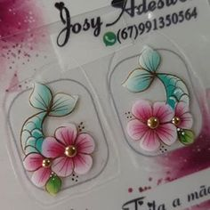 Bullet Journal Aesthetic, Nails Inspiration, Nailart, Mary, Stickers, Floral, Flowers, Instagram, Nail Stickers