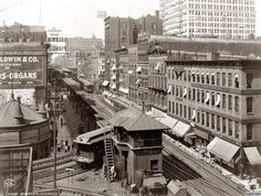 Wabash Avenue - Chicago, IL 1907
