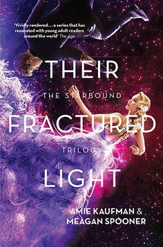 YA Book Review: Their Fractured Light by Amie Kaufman and Meagan Spooner - I couldn't put the book down towards the end!! This is definitely my favourite sci-fi series of ever. It's funny and exciting and complex. AND DID I MENTION AWESOME EPIC HACKER DUDE NAMED GIDEON!??! Because he and his sass are the highlights of this book, basically - Young Adult, Science Fiction, Fantasy, Romance, Dystopia