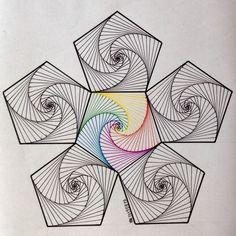 Resultado de imagem para string art patterns