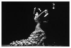Flamenco dancer Cristina Hoyos