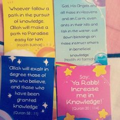 laceflower:    Knowledge is power :) #bookmarks #AlQuran #hadith (Taken with Instagram)