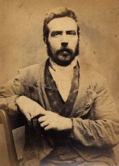 """Joseph Robson was convicted of stealing a bird cage on 24 February 1873 and was given a 6 month sentence. He had three previous convictions during the period 1870-1871, including a three month sentence for stealing a gun.  Age (on discharge): 32 Height: 5' 7"""" Hair: Dark brown Eyes: Hazel Place of Birth: Newcastle upon Tyne Status: Single Occupation: Mason  These photographs are of convicted criminals in Newcastle between 1871 - 1873.  Reference:TWAS: PR.NC/6/1/1290  (Copyright) We're happy…"""