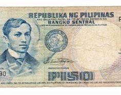 Flag Waving Image Back. Interesting piece of ephemera with unique images; Jose Rizal, Banknote, Unique Image, Ephemera, 1, Flag, Paper, Etsy, Report Cards