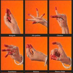 Hand mudras of Hindu dance - http://mudrasofindia.blogspot.co.uk/