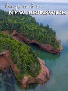 "We quickly learned that New Brunswick, Canada is NOT a ""drive-through province. Brunswick Maine, New Brunswick Canada, East Coast Travel, East Coast Road Trip, Places To Travel, Places To See, East Coast Canada, Backpacking Canada, Viajes"