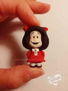 #mafalda #fimo #creazioni #franzin #polymer #clay #handmade #fumetti #strisce