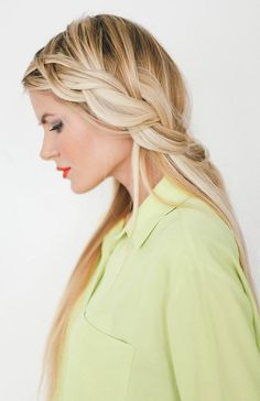 10 Pretty Hairstyles for Dirty Hair Days: Loose Dutch Braid  #hairstyles #hairstyletutorials #dirtyhairdontcare