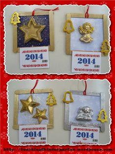 ΚΑΤΑΣΚΕΥΕΣ | ...Στο Νηπιαγωγείο | Page 2 Winter Christmas, Christmas Time, Christmas Crafts, Xmas, Christmas Ornaments, Christmas Activities, Craft Activities, Christmas Calendar, Decoupage