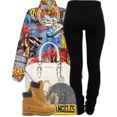 """Printed"" by oh-aurora on Polyvore"