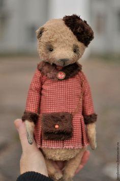 Мишки Тедди ручной работы. Ярмарка Мастеров - ручная работа Мишка Китти..... Handmade.