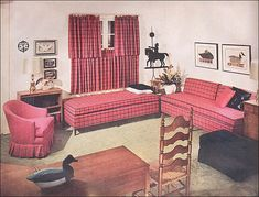1955 Modern-Traditional Guest Room by American Vintage Home, via Flickr