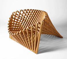 We have featured Rising Table before, a modern furniture design by Robert van Embricqs. This time, Robert submitted Rising Furniture Series: rising chair,