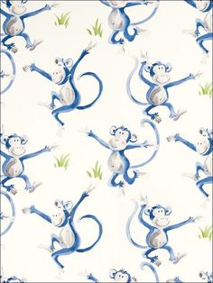 Cheeky Monkey Laura Ashley Wallpaper