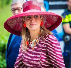 Reina Maxima asistió a un evento para jóvenes en Utrecht