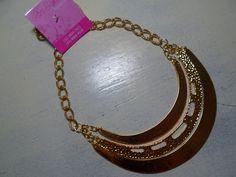 Maxi colar dourado