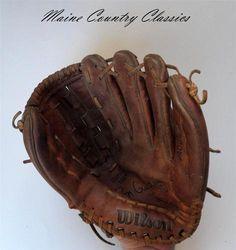 Vintage Ron Guidry Wilson Pro Style Baseball Glove A2234 Autograph Model | eBay