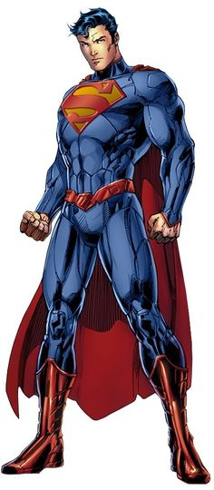 New 52 superman. Am I the only one who likes the revamped outfit? I dig the high collar