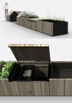 Urban Farm Kit: Modular Chicken Coops, Planters
