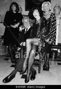 TV Prog The Avengers From L to R Diana Rigg Patrick MacNee Linda Thorsen Honor Blackman
