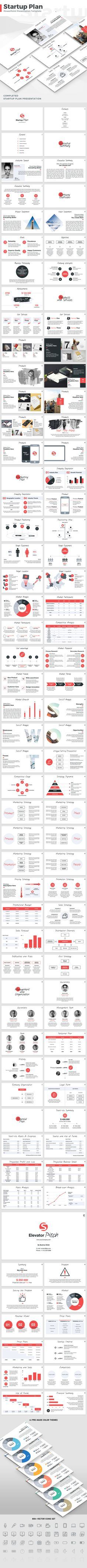 Startup Plan PowerPoint Template — Powerpoint PPTX #presentation template #business • Download ➝ https://graphicriver.net/item/startup-plan-powerpoint-template/18971690?ref=pxcr
