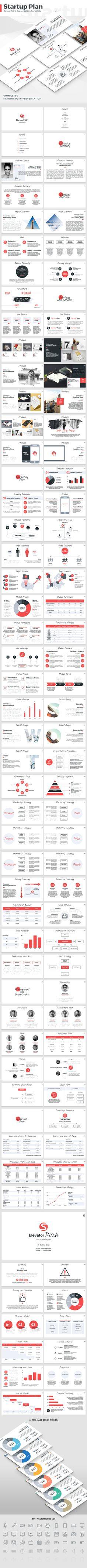 Startup Plan - PowerPoint Template