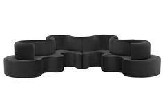 Cloverleaf Sofa - 4 Units by Verner Panton for Verpan | Space Furniture