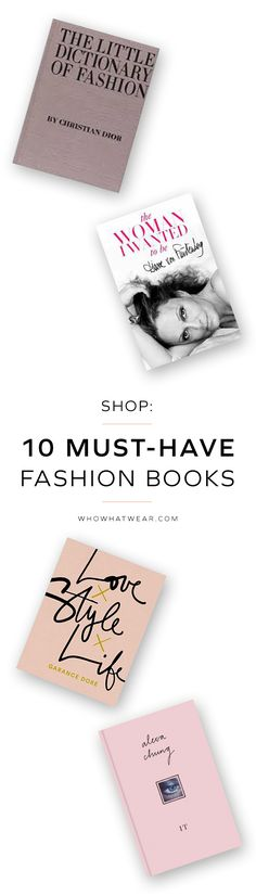Shop essential books for fashion girls