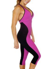 Brazilian Workout Wear: Wave Jumpsuit
