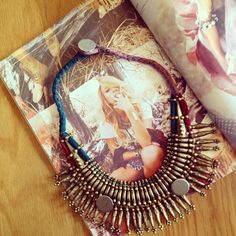 RR Manju Necklace featured in the latest issue of Disfunkshion Mag!!