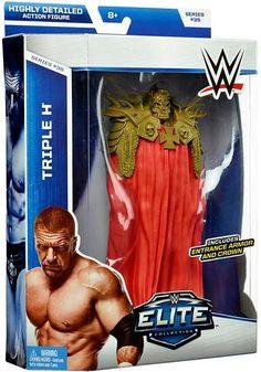WWE Elite Series 35.....Triple-H in Wrestlemania 30 attire