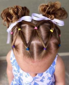 Hairstyle For Girls Toddler Hair Dos, Cute Toddler Hairstyles, Kids Curly Hairstyles, Baby Girl Hairstyles, Holiday Hairstyles, Girl Hair Dos, Curly Hair Styles, Hair Beauty, Myla
