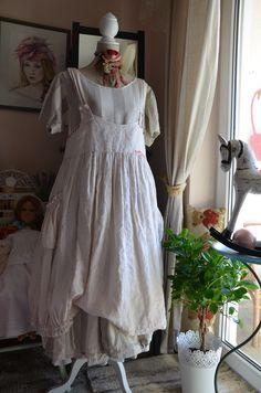 the dress Les Chiffons de Pucerone+ dress with a stripes Nadir