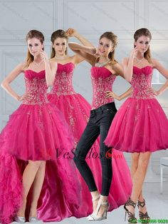 The Most Popular Ball Gowns Sweetheart Detachable Quincenera Dresses Xv Dresses, Prom Dresses 2015, Quince Dresses, Ball Dresses, Ball Gowns, Bridesmaid Dresses, Sweet 15 Dresses, Elegant Dresses, Beautiful Dresses