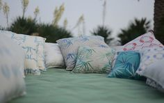 Fresh and Green - ecru - linens & accessories for your home