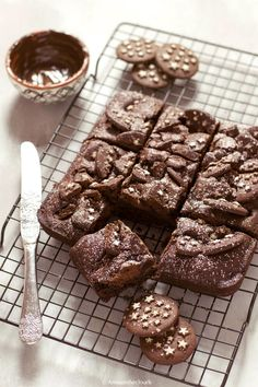 brownies di pan di stelle