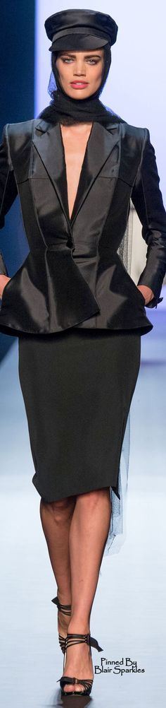 Spring 2015 Couture Jean Paul Gaultier  ♕♚εїз | BLAIR SPARKLES