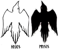 Hugin and Munin, Thought and Memory