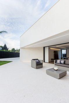 Menorca, Outdoor Spaces, Outdoor Living, Outdoor Decor, Porch And Terrace, Small Cottages, House 2, Terrazzo, Outdoor Gardens