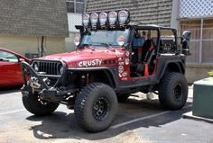This Jeep is ready for just about anything.