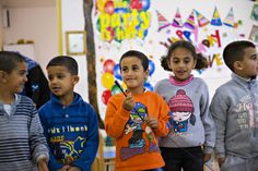 Project Sparkle Israel Early Learning Center Students