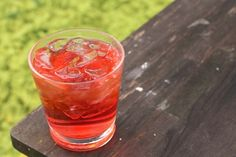 Campari and Gin | 21 Pretty Pink And Red Drinks For Valentine's Day # ...