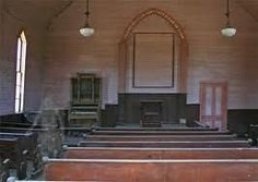 Old Methodist Church Bodie Ghost Town California  Notice full body apparition in left aisle of church Appears to be a woman in period clothing, transparent