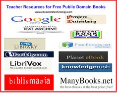 13 Great Resources for Finding Free Public Domain Books