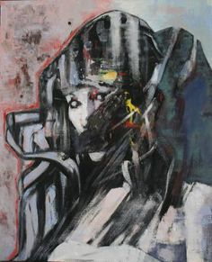 "Saatchi Art Artist Patrick Delaunay; Painting, ""LA MUSARAIGNE"" #art"
