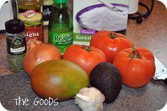 PBJstories: Mango Avocado Salsa, delicious!