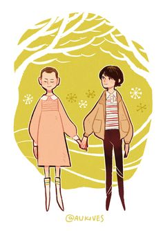 """""""I'll remember you. Always."""" (Eleven and Mike Wheeler from Stranger Things)"""