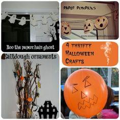 A Thrifty Mum: 4 Thrifty Halloween Crafts