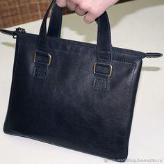 Кожаная сумка папка для документов. Папка с ручками – купить в интернет-магазине на Ярмарке Мастеров с доставкой
