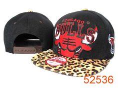 NBA Chicago Bulls Snapback Hats Caps Leopard grain style New Era 2150|only US$8.90